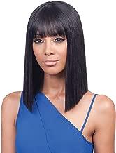 Bobbi Boss Synthetic Hair Lace Front Wig MLF184 Yara Bang (1B)
