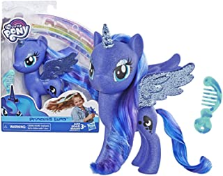 """My Little Pony Toy Princess Luna – Sparkling 6"""" Figure for Kids Ages 3 Years Old & Up,Brown"""