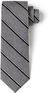 """Origin Ties 100% Silk 2.5"""" Skinny Tie Handmade Men's Splattered Striped Necktie"""