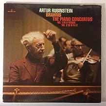 Arthur Rubinstein: Brahms: The Piano Concertos: No.1 in D Minor: No. 2 in B-Flat (2 RECORD SET)