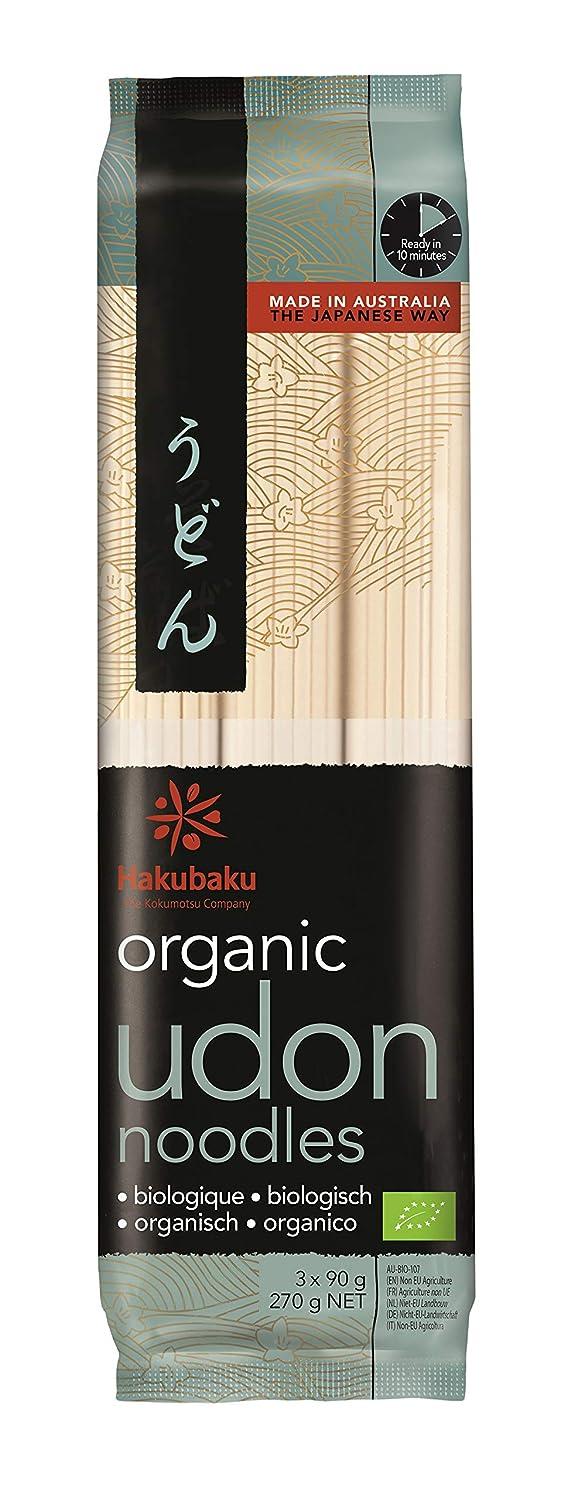 Hakubaku Organic Udon Wheat Noodle (1 x 9.5 OZ)