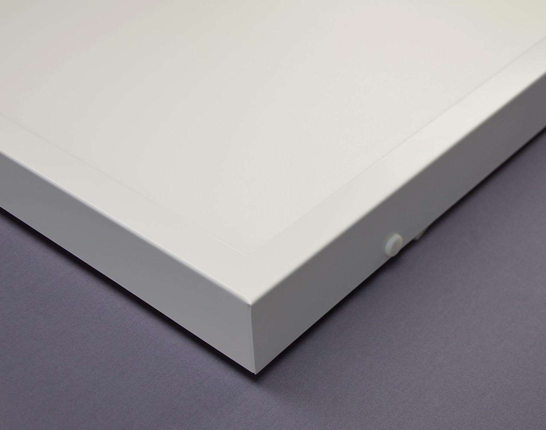 LED Panel Aufbaurahmen - Deckenanbau Typ 120x30 - wei