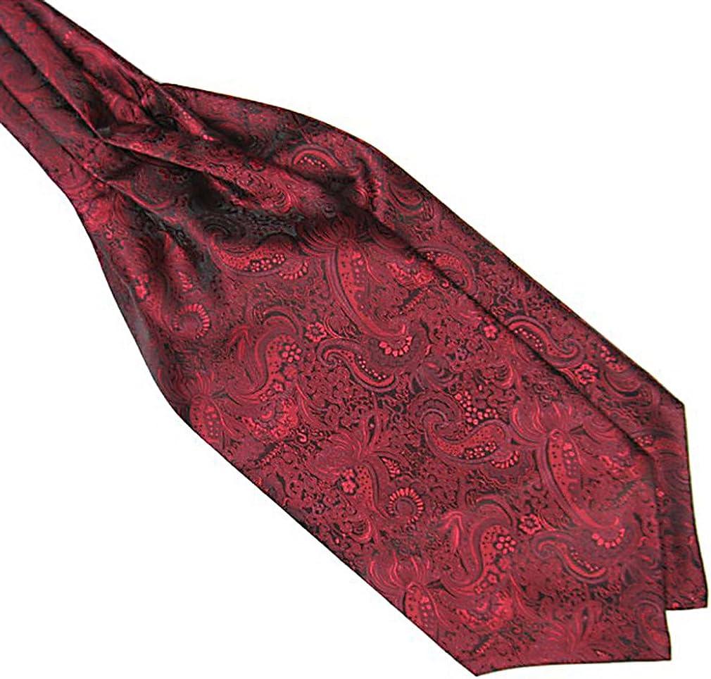Celino Men/'s Silk Luxury Pocket Square Hanky Green Black Paisley Handkerchief
