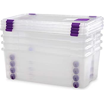 xy Cajas almacenaje plastico Grandes de Almacenamiento de 100 ...