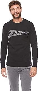 French Kick Sweatshirt For Men - Black, Size Medium