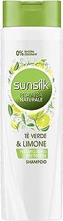 Sunsilk Ricarica Naturale Thè Verde & Limone, Effetto Detox, Shampoo - 250 ml