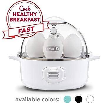 DASH Express Electric Egg Cooker, 7, White