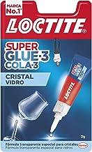 Loctite Super Glue-3 glaslijm, waterbestendig, secondelijm speciaal voor glaskristallen, transparante en extra sterke lij...