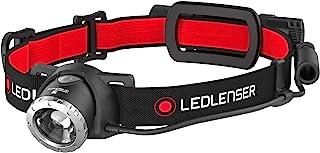 Ledlenser Rechargeable Headlamp, Black/Red