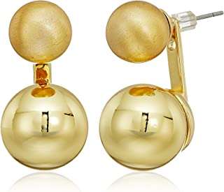 Rebecca Minkoff Sphere Front Back Earrings