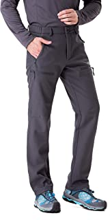 Trailside Supply Co. Men's Fleece-Lined Insulated Pants for Hiking,Snowboarding
