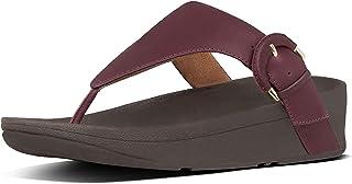FitFlop Women's Lottie Buckle Toe-Thongs Flip-Flop