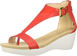 Kenneth Cole REACTION Women's New Gal Platform T-Strap Sandal Sport