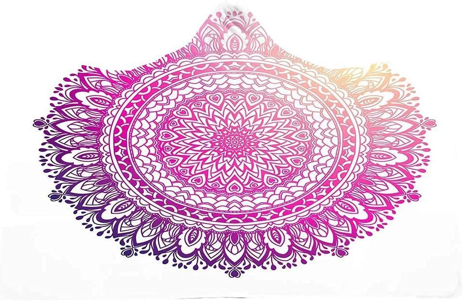 Boho Elegant Mandala Bohemian SEAL limited product Blanket Wearab Dreamcatcher Hooded unisex