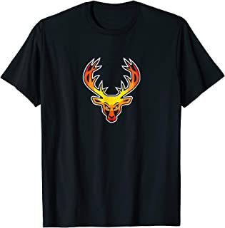 Buckedup.com Fire Color Palette Bucked Up Logo T-Shirt