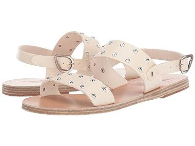 Ancient Greek Sandals Dinami Rivets (Off-White) Women