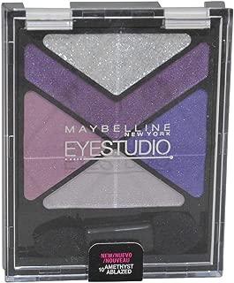 Maybelline New York Eye Studio Color Explosion Luminizing Eyeshadow, Amethyst Ablazed 10, 0.09 Ounce