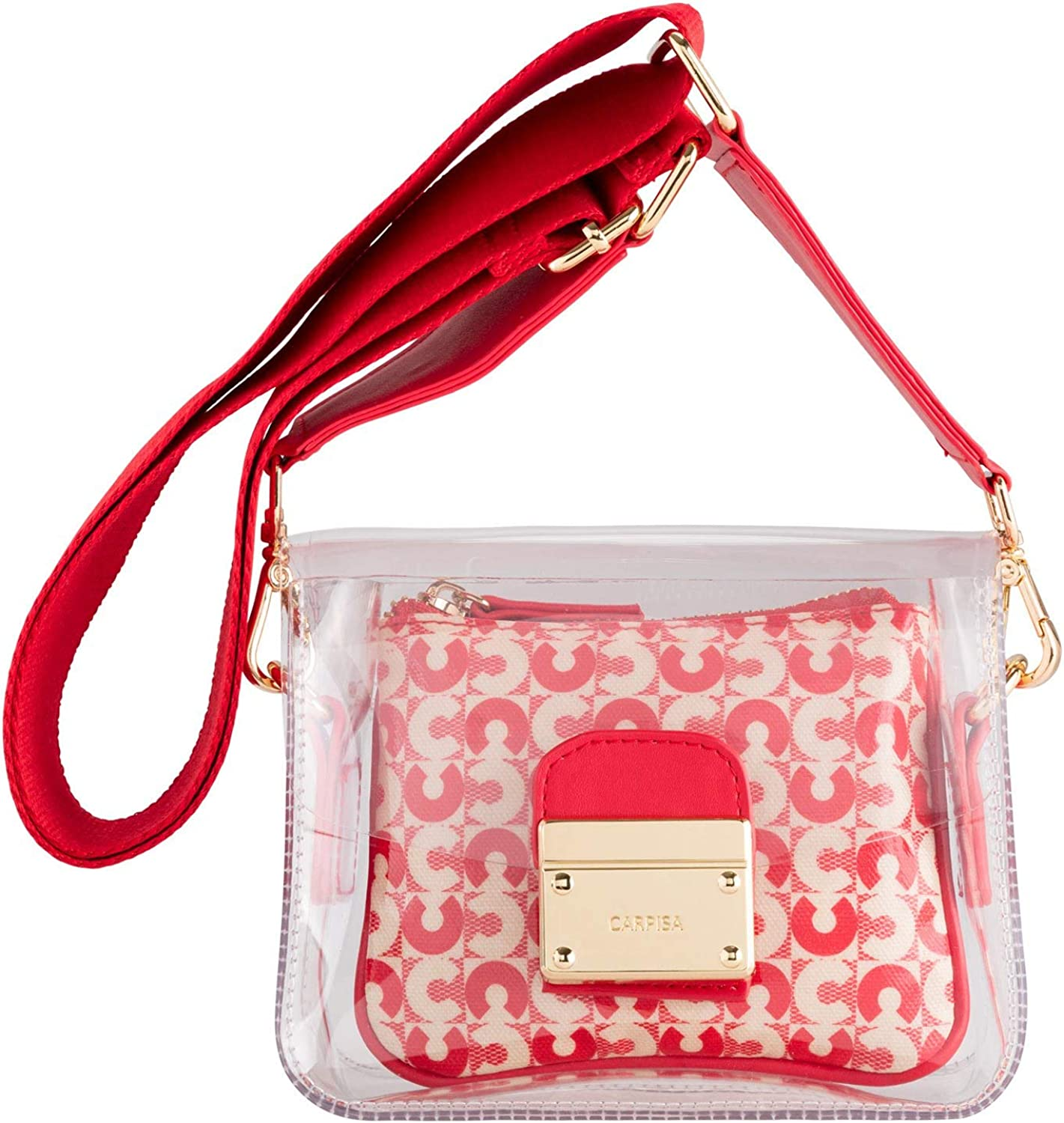 Quieta CARPISA /® Transparent shopper bag