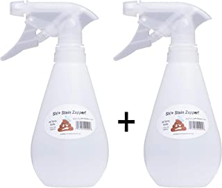POWERFUL Empty Spray Bottle (NEW) Portable Blaster Stain Remover SSZ Spray Bottle - Toilet Bowl Cleaner, Bird Poop Remover, Nose Aspirator Cleaner, Hard to Reach Corners, Pet Training, Baby Stains