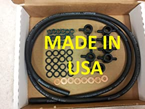 MADE IN USA 1983-91 Replacement for Ford and International 6.9L 7.3L IDI Non Turbo Diesel Injector Return Line Injector install kit