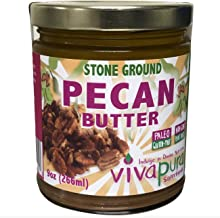 product image for Vivapura, Raw, Organic, Stone Ground, Pecan Butter 9oz Jar