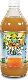 Dynamic Health Puree, Papaya, 16-Ounce (Pack of 2)