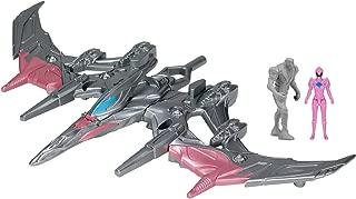 "Power Rangers ""Megazord Pterodactyl Battle Zord with Pilot Pink Ranger"" ● Action Figure"