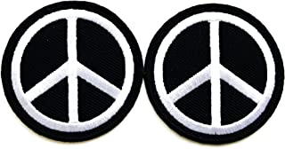 Vintage 60s America Peace Sign Mini Iron On Transfer New Old Stock USA Hippie