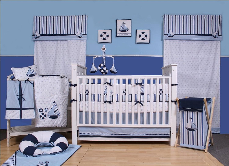 Little Sailor 9pc Crib Set