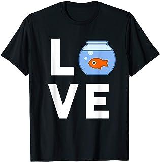 dc7c6653c2a Funny Fishbowl T-Shirt Goldfish Pet Fish Lover Kids Gift Tee
