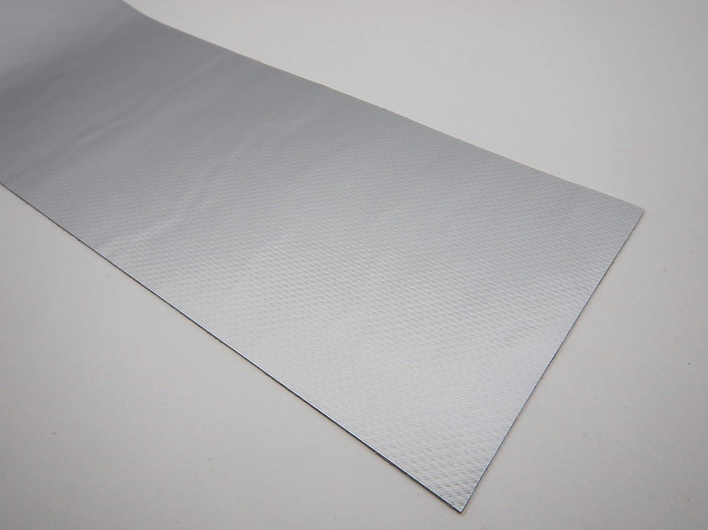 Lkw Plane Zelt Markise Planen Reparatur Pflaster 10mm Breit Silber Weißaluminium 9006 100cm Gewerbe Industrie Wissenschaft