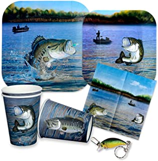 gone fishing theme party supplies