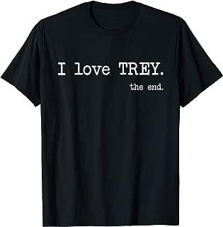 Best i love trey shirt Reviews
