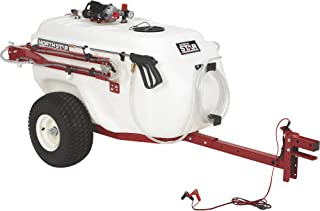NorthStar Tow-Behind Trailer Boom Broadcast and Spot Sprayer - 101-Gallon Capacity, 7.0 GPM, 12V DC