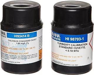 Hanna Instruments HI93414-11 Cal Check Calibration Set, For Free and Total Chlorine