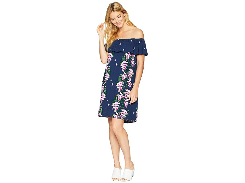 Tommy Bahama Magnifica Cascade Sun Dress (Ocean Deep) Women's Dress, Blue