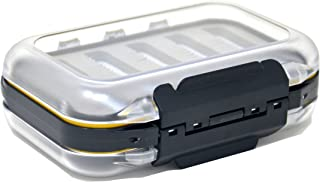 Outdoor Planet Waterproof Fly Box with Dry/Wet/Nymph/Streamer Trout Fly Fishing Flies Lure