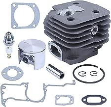 Adefol 52mm Head Cylinder Piston Kit for Husqvarna 268 272 272K 272XP Chainsaw Engine Motor Rebuild Gasket Set