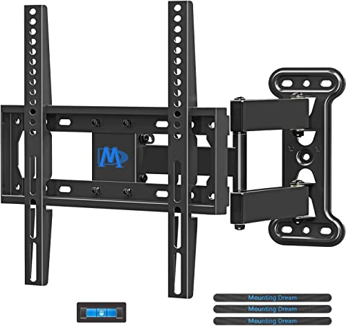 Mounting Dream TV Mount Full Motion with Perfect Center Design for 26-55 Inch LED, LCD, OLED Flat Screen TV, TV Wall ...