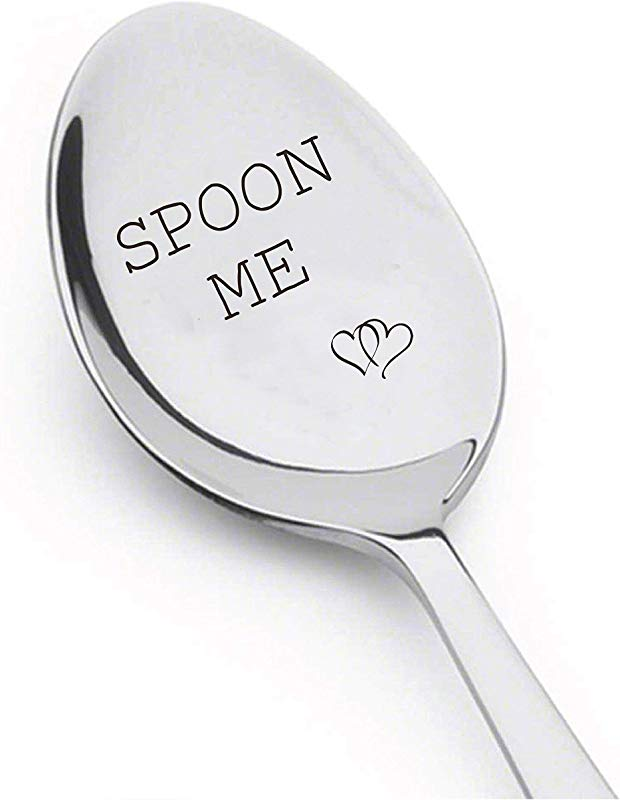 Spoon Me With Couple Heart Boyfriend Gift Birthday Gift Anniversary Gift Wedding Gift Spoon Gift A32