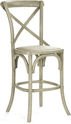 Amazon Com French Heritage Bosquet Bar Stool Black
