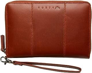 Rusty Women's Getaway Leather Travel Wallet Brown