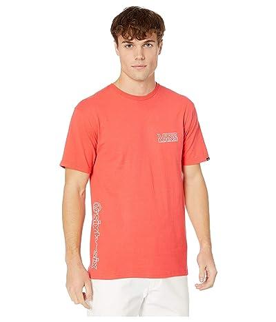 Vans OTW(r) Framework Short Sleeve T-Shirt (Hibiscus) Men