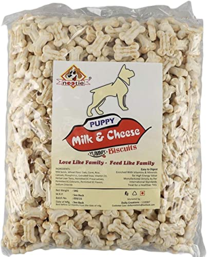 Nootie Mlk Biscuits For Puppies - 1 Kg Pack