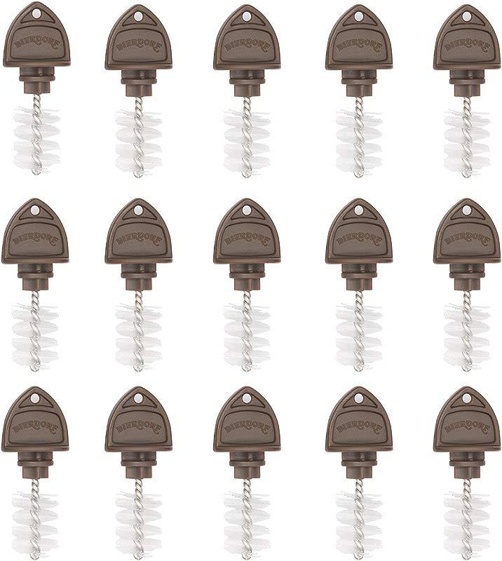 Beer Tap Plugs Brush Beer Faucet Brush Plugs For Draft Beer Faucet Cap 15 Pack
