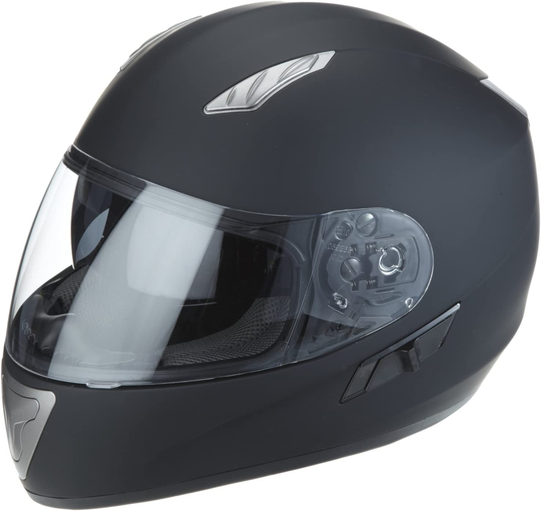 Protectwear Motorradhelm Integralhelm Mit Integrierter Sonnenblende Auto