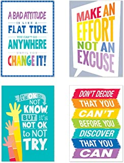 Creative Teaching Press Inspire U Painted Palette 4-Poster Pack #1 (7487)