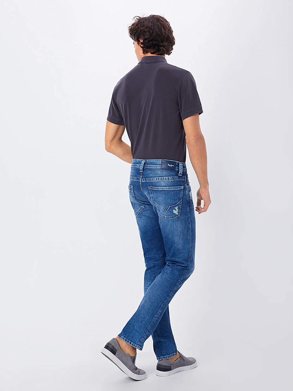 Pepe Jeans Cash - Jeans - Slim - Homme Bleu Denim