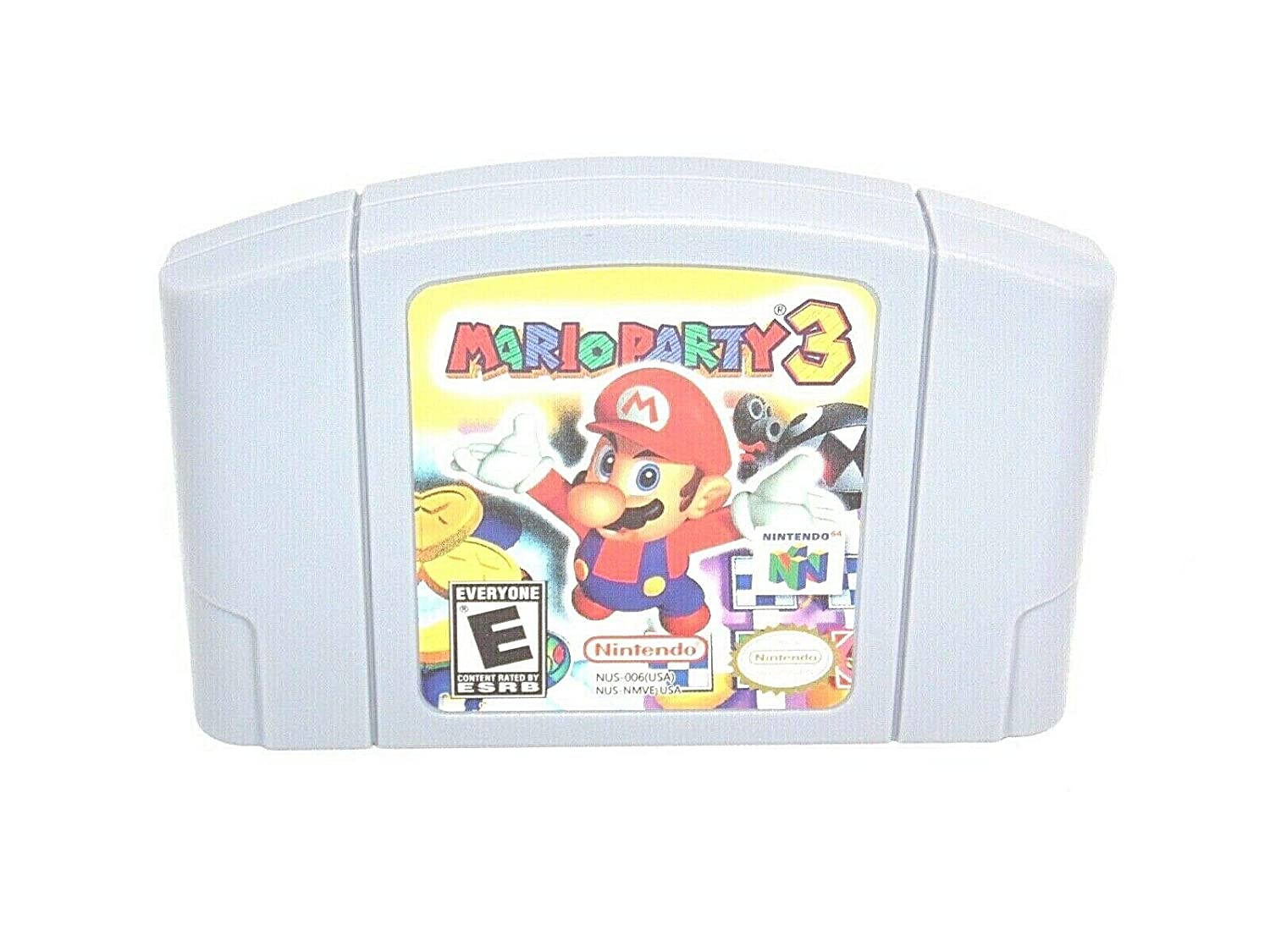 Mario 4 years warranty Party 3 Game Card For Tulsa Mall - US Nintendo N64 Version
