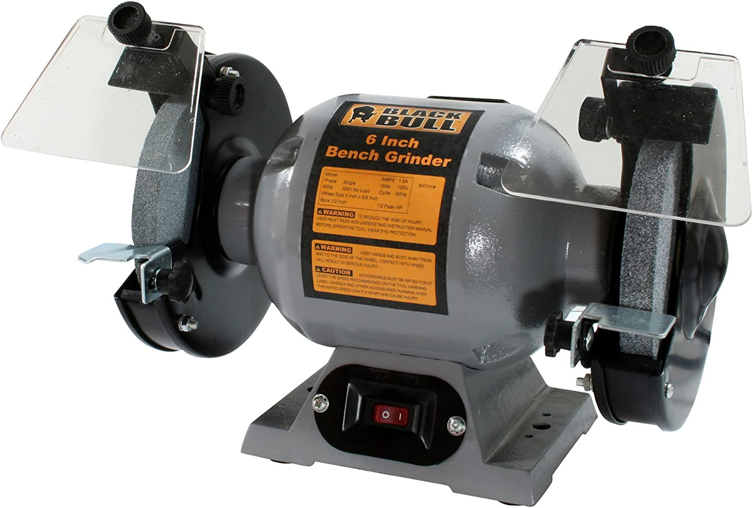 Buffalo Tools BG6UL 6In Max 44% OFF Silver Bench Grinder Excellence